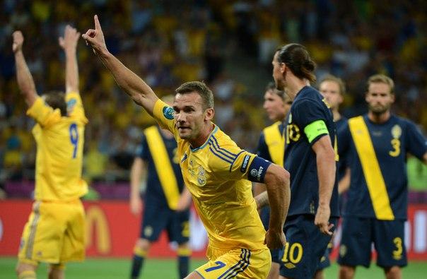 швеция украина 2012 голы: